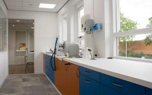 Baakman tandtechniek werkbank